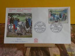 La Chasse Au Faucon - 60 Chantilly - 25.9.1965 FDC 1er Jour N°543 - Coté 5,50€ - FDC
