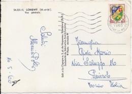 TP N° 1232 SUR CP DE 1960 POUR L'ITALIE - 1941-66 Armoiries Et Blasons