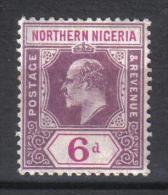 W644 - NORTHERN NIGERIA ,  Il 6 P. Filigrana CA Mult  *** MNH. Poco Fresco - Nigeria (...-1960)