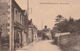 50 Quettreville Sur Sienne. Rue De L'Eglise - France