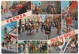 RA35 !!! FAENZA VEDUTINE DEL PALIO DEL NIBALLO F.G. !!! - Faenza