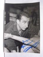 AUTOGRAPHE - DEDICACE - PHOTO SIGNEE - JEAN TARIS - NATATION - PHOTO L'EQUIPE - Autographes