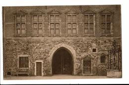 CPA - Carte Postale - Belgique - Gaasbeek - Son Château- Soubassement De Grès --VM80 - Lennik