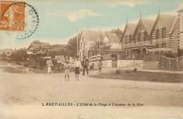 PREFAILLES - L'hôtel De La Plage Et L'avenue De La Mer - 2 - Préfailles
