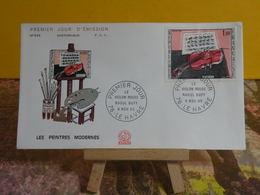 Le Violon Rouge De Raoul Dufy - 76 Le Havre - 6.11.1965 FDC 1er Jour N°549 - Coté 4€ - FDC
