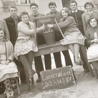 LONNERSTADT - 1958 - VIEHHALTUNGS- MELKKURS - (FOTO ERWIN STENGLEIN - KULMBACH-W) - 4 - Métiers