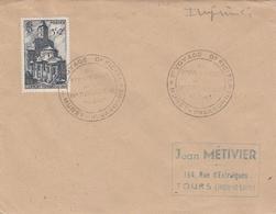 OBLIT. GF VOYAGE OFFICIEL Du 1er PRÉSIDENT De La RÉPUBLIQUE - MURET Hte GARONNE 3/47 - Marcophilie (Lettres)