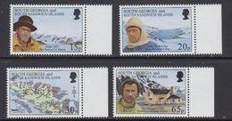 South Georgia 1996 Shackleton's Trek 4v  (+margin) ** Mnh (41736) - Zuid-Georgia