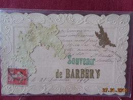 CPA - Barbery - Souvenir - France