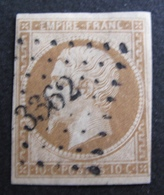 DF50478/169 -  NAPOLEON III N°13Ac Bistre-brun ➤ PC 3362 : THUIR (Pyrénées Orientales) ☛☛ INDICE 12 - 1853-1860 Napoleon III