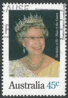 Australia. 1995 Queen Elizabeth II's Birthday. 45c Used - 1990-99 Elizabeth II