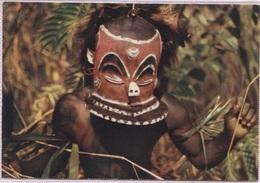 CPM - MASQUE AFRICAIN - BAPENDE - Photo Hoa-Qui - Ansichtskarten
