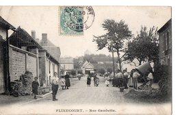 FLIXECOURT - Rue Gambetta - Flixecourt
