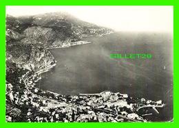 BEAULIEU-SUR-MER (06) - VUE GÉNÉRALE, CÔTÉ EST - CIRCULÉ EN 1958 - PHOTO VÉRITABLE - - Beaulieu-sur-Mer