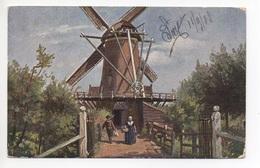 WINDMÜHLE W. De Haan Utrecht - Moulins à Vent