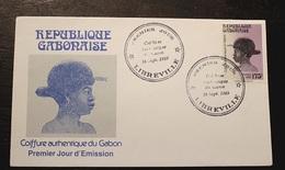Enveloppe 1° Jour GABON Coiffure Authentique Du Gabon 16 09 1989 - Gabon (1960-...)