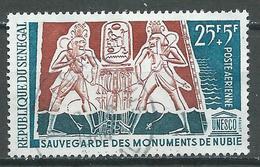 Sénégal Poste Aérienne YT N°39 Sauvegarde Des Monuments De Nubie Oblitéré ° - Senegal (1960-...)