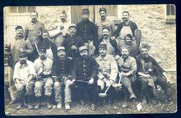 Cpa Carte Photo Du 91 à Bretigny Sur Orge Groupe De Militaire  YN56 - Bretigny Sur Orge