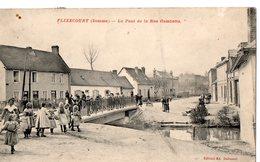 FLIXECOURT (Somme) - Le Pont De La Rue Gambetta - Flixecourt