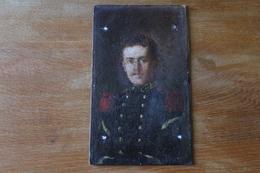 Tableau Militaire  Soldat Du 46 Eme RI  Sergent  Monogramme Sihné  , - Militaria