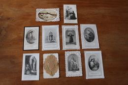 Belle Collection De Canivets Second Empire Noblesse  Superbe - Imágenes Religiosas