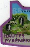 Magnets Magnet Le Gaulois Departement Tourisme France 65 Hautes Pyrénées - Tourisme