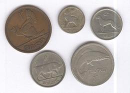 Lot 5 Monnaies Irlande Pré Décimal  / Ireland  Before Decimal  - TTB+ - Ireland