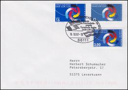 1957 Saar-Lor-Lux Mit Frankreich Und Luxemburg FDC I ESSt Saarbrücken 16.10.1997 - Gemeinschaftsausgaben