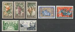 LOT ALGERIE NEUF* AVEC OU TRACE DE CHARNIERE TB  / MH - Algérie (1924-1962)