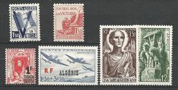 LOT ALGERIE NEUF SANS GOM - Algérie (1924-1962)