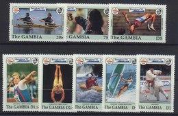 //// Gambie Yvert 1205 / 1212** - Ete 1992: Barcelone
