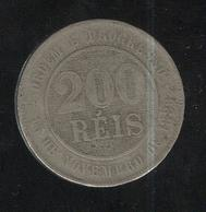 200 Réis Brésil / Brasil / Brazil 1894 - Brésil