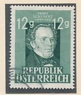 ÖSTERREICH Mi. Nr  801  150. Geburtstag Von Franz Schubert- Siehe Scan - Used - 1945-.... 2. Republik