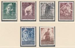 ÖSTERREICH Mi. Nr  829-834 Kriegsgefangene - Siehe Scan - Used - 1945-.... 2ème République