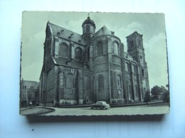 België Belgique Vlaams Brabant Grimbergen Abdij Kerk En Oude Auto - Grimbergen
