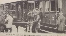 Kontich Anvers Accident De Chemin De Fer – Schrikkelijk Spoorweg Ongeluk - Kontich