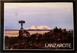 Ak Spanien - Lanzarote - Timanfaya - Lanzarote