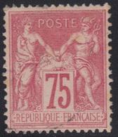 Sage N°81, Oblitération Légère, Cote 150 €. - 1876-1898 Sage (Type II)