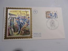 FRANCE (1971) Journée Du Timbre MARMANDE - FDC