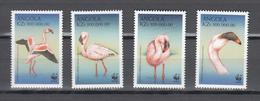 Angola 1999,4V,set,WWF,birds,vogels,vögel,oiseaux,pajaros,uccelli,MNH/Postfris(A3670) - Oiseaux