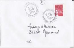 65 - HAUTES PYRENEES - 65.LABATUT RIVIERE/GUICHET DE PROXIMITE - 2004 - TàD De Type A9 - Postmark Collection (Covers)