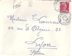 65 - HAUTES PYRENEES - VIC EN BIGORRE - 1956 - TàD De TYPE A7 - Manual Postmarks
