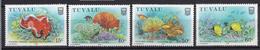 1988 - TUVALU - Yv. Nr. 483A/483D - NH - (UP.207.42) - Tuvalu