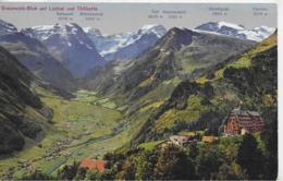 AK 0143  Braunwald-Blick Auf Linthal Und Tödikette Um 1914 - GL Glarus