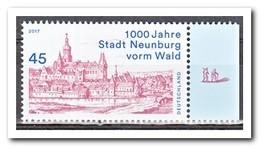 Duitsland 2017, Postfris MNH, MI 3290, 1000 Years City Neunburg Vorm Wald - Ongebruikt
