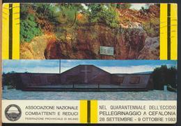 °°° 13050 - GREECE - PELLEGRINAGGIO A CEFALONIA ARGOSTOLI - 1983 With Stamps °°° - Grecia