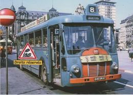 Autobus Somua OP5/3 Place Kléber à Strasbourg (67) - - Strasbourg