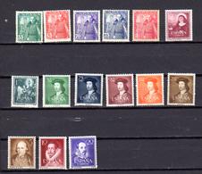 1948-58   Espagne, Timbres Neufs, Entre 767 Et 822**, Cote 49 €, - 1931-Hoy: 2ª República - ... Juan Carlos I