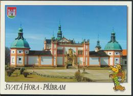 °°° 13051 - CZECH REPUBLIC - PRIBRAM - SVATA HORA - With Stamps °°° - Repubblica Ceca