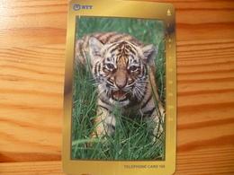 Phonecard Japan 231-268 Tiger - Japan